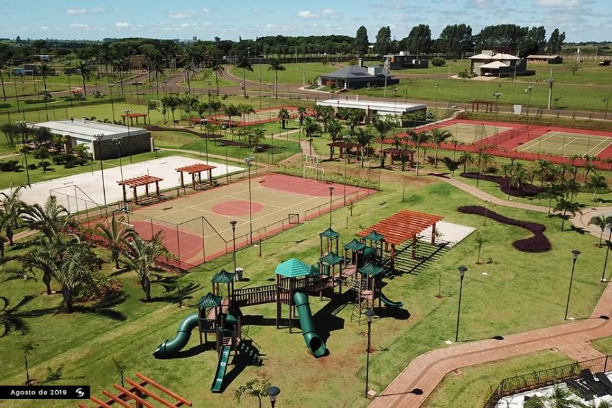Aérea Playground Quadras