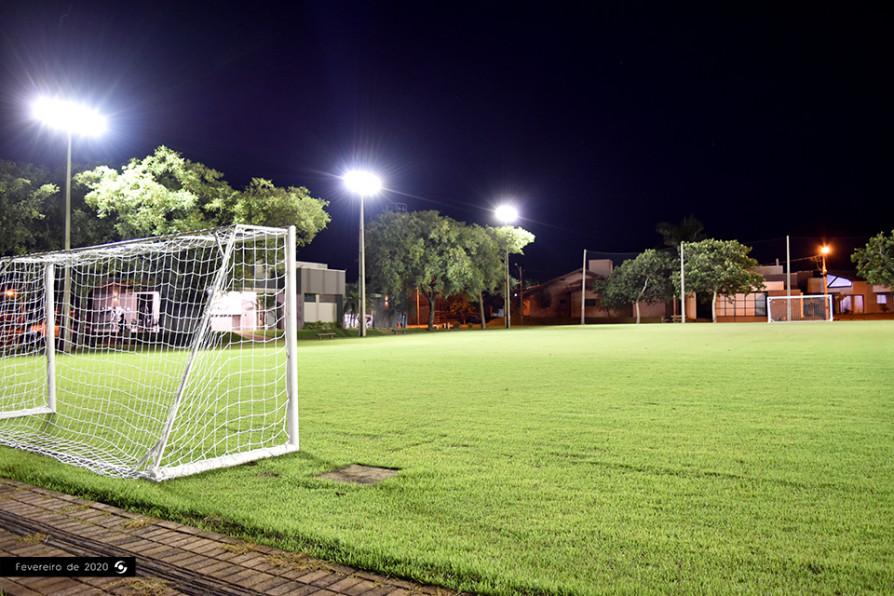 Campo Futebol Noite
