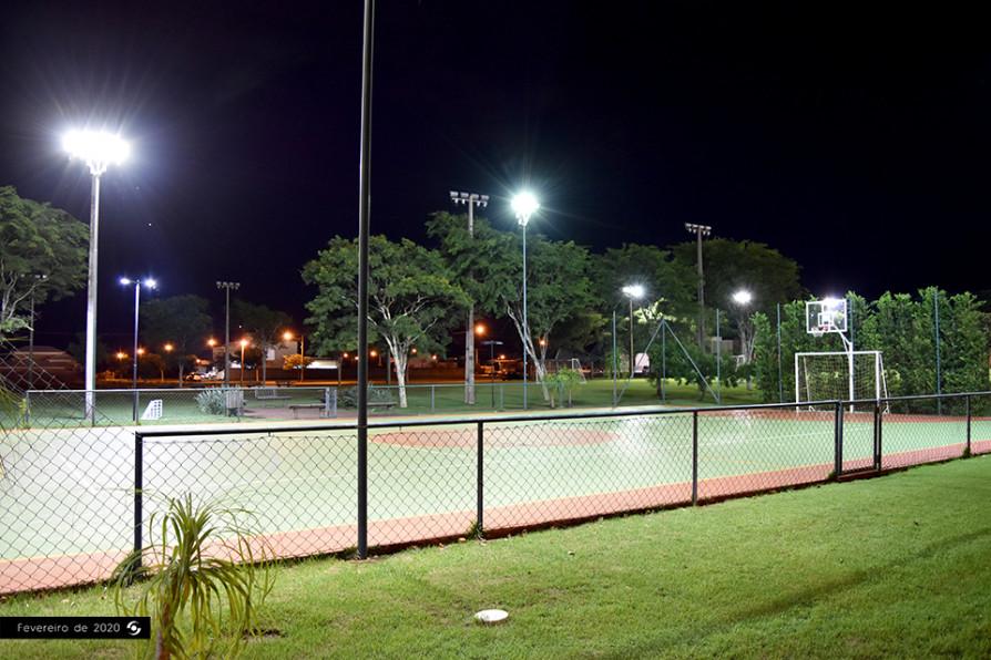 Quadra Esportes Noite
