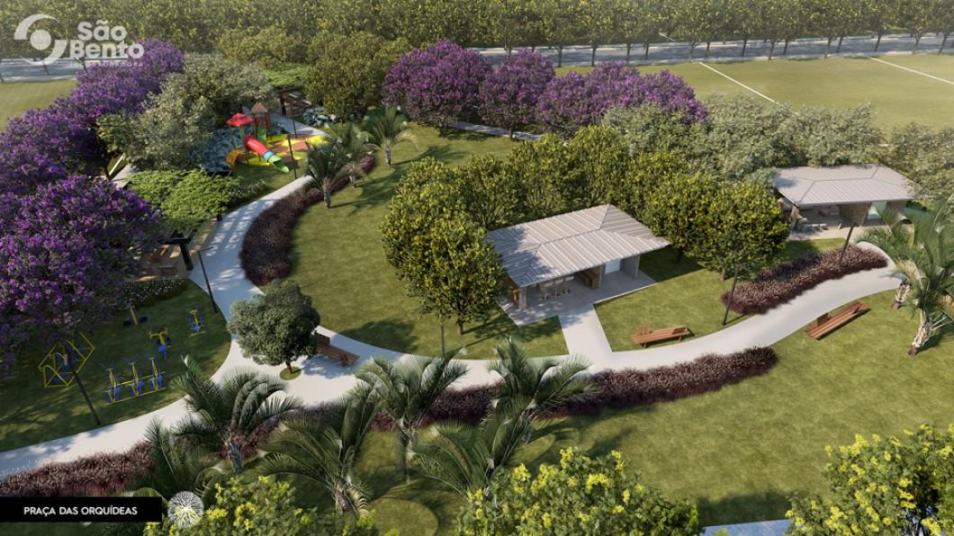 Praça das Orquídeas