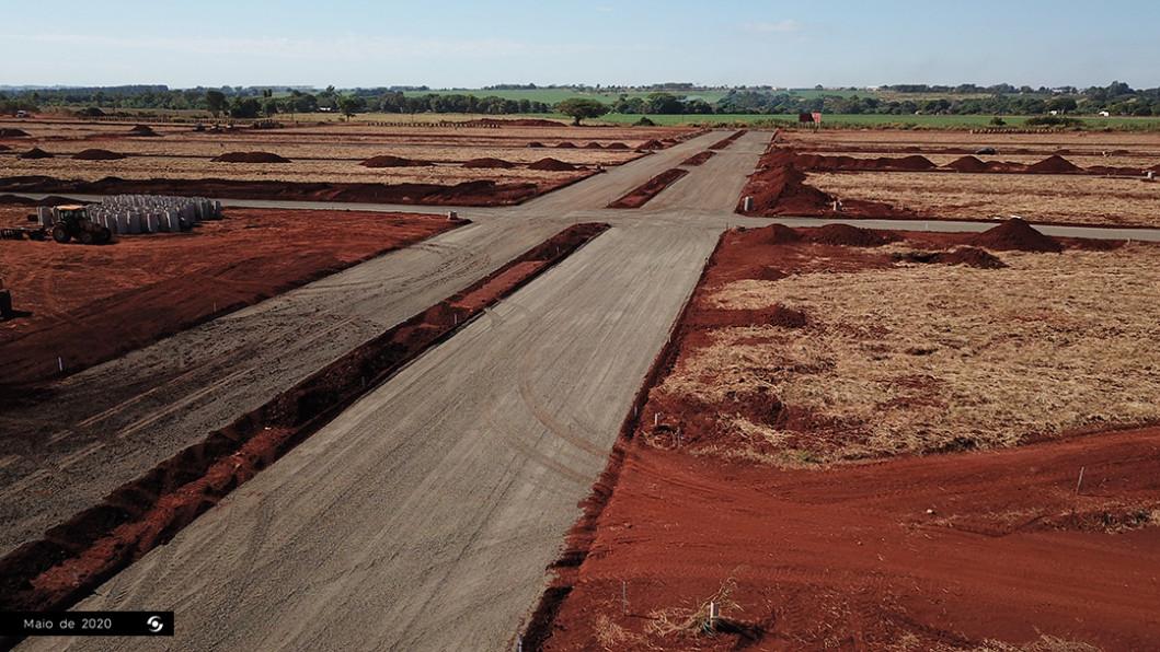 Aérea Obras Avenida