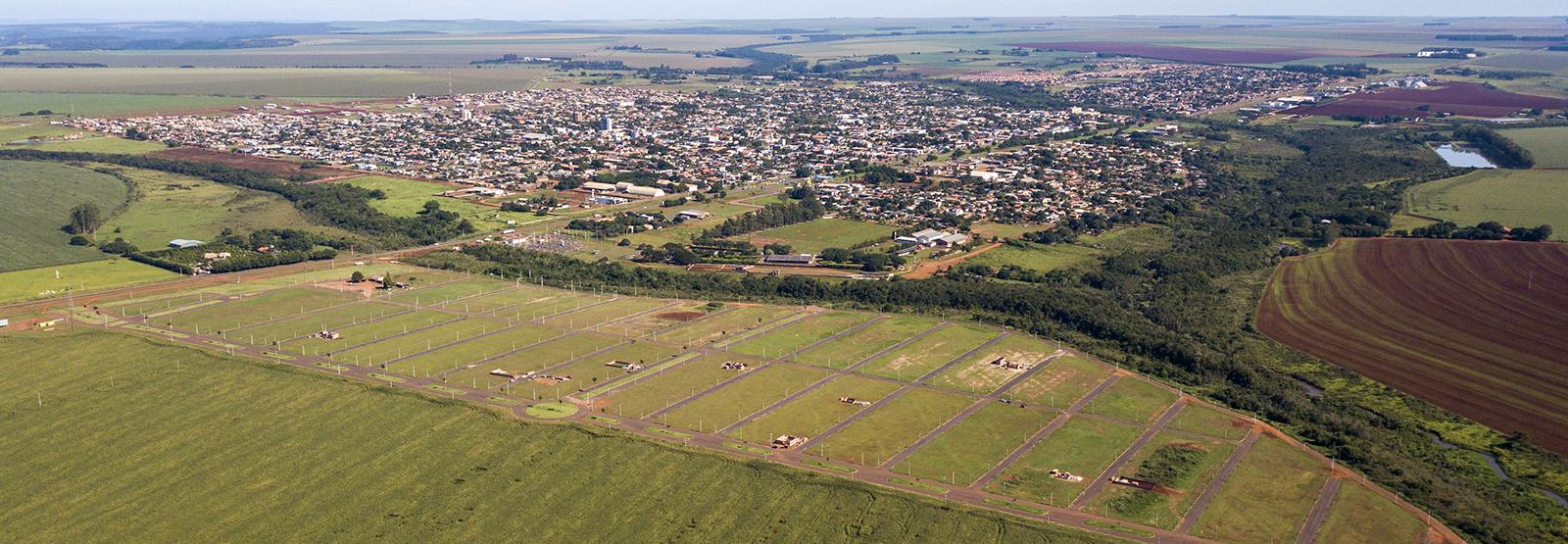 Banner Cidade Jardim - São Gabriel do Oeste - MS - Lotes de 300 a 700m²