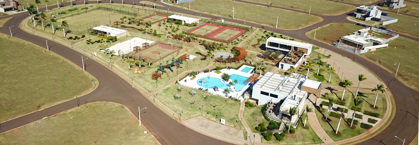 Banner Green Park - Dourados - MS - Lotes de 325 a 580m²